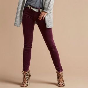 Cabi 3197 Vino Skinny Corduroy Pants   Size 4